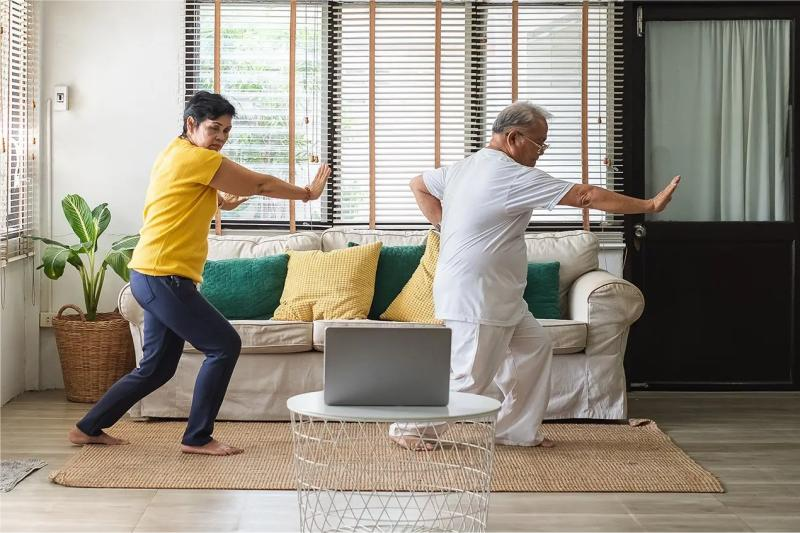 Practicing Tai Chi at home